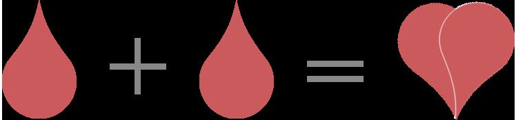 Kapka krve rovná se život - ilustrace